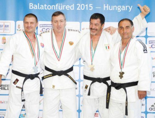 Úspešné Veteran European Judo Championship