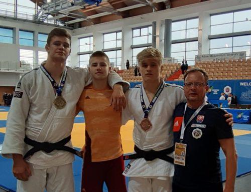 Márius Fízeľ 1.miesto, Alex Barto 3.miesto a Bruno Banský 7.miesto na Ecupe juniorov v Poznani, Poľsko.