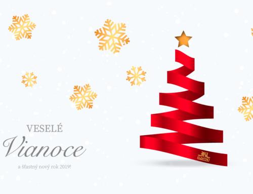 Šťastné a Veselé Vianočné Sviatky!