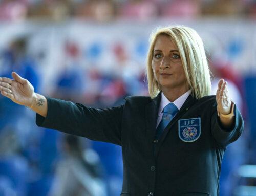 Judita Pisárová na Grand Slam v Paríži ako rozhodkyňa